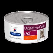 Hills PD Feline I/D - Хиллс лечебные консервы для кошек I/D(заболевания жкт)