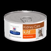 Hills PD Feline K/D - Хиллс лечебные конс. для кошек K/D