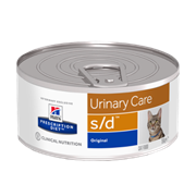 Hills PD Feline S/D - Хиллс лечебные консервы дкошек S/D