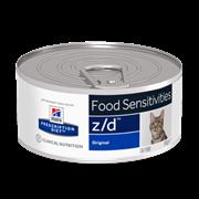 Hills PD Feline Z/D - Диета Z/D консервы для кошек лечение Острых острых пищевых аллергий
