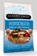 Golden Eagle Holistic Salmone&Oatmeal 22/12 для собак с лососем и овсянкой (12 кг)