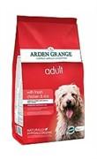 Arden Grange  Корм сухой для взрослых собак, с курицей и рисом AG Adult Dog Chicken & Rice  (12 кг)