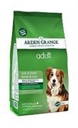 Arden Grange  Корм сухой для взрослых собак, с ягненком и рисом  AG Adult Dog Lamb & Rice  (12 кг)