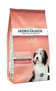 Arden Grange  Корм сухой для взрослых собак, с лососем и рисом (2 кг.) AG Adult Dog Salmon & Rice  (12 кг)