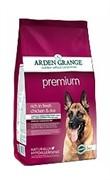 """Arden Grange  Корм сухой для взрослых собак, """"Премиум""""  AG Adult Dog Premium  (12 кг)"""