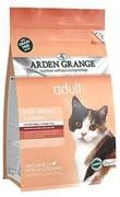 Arden Grange Корм сухой беззерновой, для взрослых кошек, с лососем и картофелем (0,4 кг.)  AG Adult Cat (GF) Salmon & Potato (4 кг)