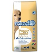 Forza10 Puppy Junior Pollo/pat.  (курица, картофель) (15 кг)