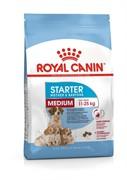 Royal Canin сухой корм для щенков средних пород 3 нед.   2 мес., беременных и кормящих сук, Medium Starter (12 кг)