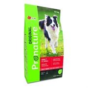 """Pronature """"Original New"""" Сухой корм для взрослых собак всех пород с ягнёнком (18 кг)"""