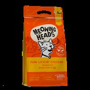 """BARKING HEADS Для Взрослых кошек с Курицей и рисом """"Куриное наслаждение"""" (Paw Lickin' Chicken) 1,5 кг"""