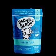 """Паучи для кошек с сардинами, тунцом, курицей и говядиной """"Все лучшее сразу"""" (SUPURRR SURF & TURF )"""