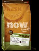 NOW NATURAL HOLISTIC Беззерновой для Пожилых собак Малых пород с Индейкой, Уткой и овощами (Fresh Small Breed Senior Recipe Grain Free 24/11)