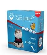 VAN CAT Комкующийся наполнитель Идеальные комочки, 7л, коробка (Vancat Ultra Clumping)