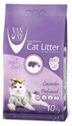 VAN CAT Комкующийся наполнитель без пыли с ароматом Лаванды, пакет (Lavender) ФИОЛЕТОВЫЙ urn1012