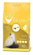 VAN CATКомкующийся наполнитель без пыли с ароматом Ванили, пакет (Vanilla)