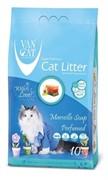 VAN CAT Комкующийся наполнитель без пыли с ароматом Марсельского мыла, пакет (Marsilla Soap)