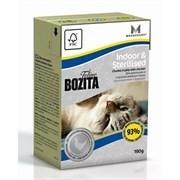 BOZITA Кусочки в желе для домашних и стерилизованных кошек с курицей, Indoor&Sterilised