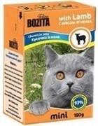 BOZITA Mini Кусочки в желе для кошек с ягненком, Chunks in Jelly with Lamb