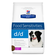 Hills PD Canine D/D Duck & Rice - Хилз D D лечебный сухой корм для собак (утка с рисом) ( 12 кг)