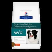 Hills PD Canine W/D - Хилз WD Лечебный сухой корм для собак c диабетом ( 12 кг)