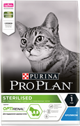 Purina Pro Plan Sterilised feline with Rabbit dry для стерилизованных кошек с кроликом (10 кг)
