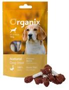 Organix Лакомство для собак «Утиные гантельки» (100% мясо) (Duck fillet/ dumbbell),