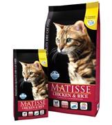 FARMINA Matisse Chicken & Rice для взрослых кошек с курицей и рисом
