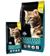 FARMINA Matisse Chicken & Turkey для взрослых кошек с курицей и индейкой