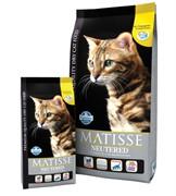 FARMINA Matisse Neutered для стерилизованных кошек и кастрированных котов