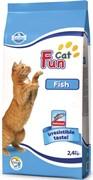 FARMINA FUN CAT Сухой корм для взрослых кошек с курицей и рыбой Fish