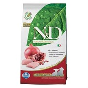 FARMINA N&D PRIME DOG CHICKEN AND POMEGRANATE PUPPY MINI (2.5 кг)