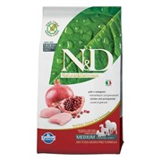 N&D PRIME DOG CHICKEN AND POMEGRANATE ADULT MEDIUM & MAXI