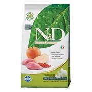FARMINA N&D GF Сухой беззерновой корм для взрослых собак с мясом дикого кабана и яблоком Adult Boar&Apple (12 кг)