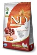 FARMINA N&D  Для взрослых собак малых пород с курицей, гранатом и тыквой Dog GF Pumpkin Chicken & Pomegranate Adult Mini