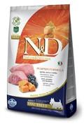 FARMINA N&D Для собак малых пород ягненок с черникой и тыквой Dog GF Pumpkin Lamb & Blueberry Adult Mini (7 кг)