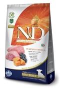 FARMINA N&D Для щенков мелких пород с ягненком, черникой и тыквой Dog GF Pumpkin Lamb & Blueberry Puppy Mini