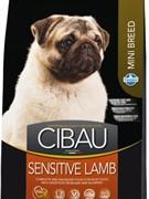 FARMINA Cibau Sensitive Lamb Mini для взрослых собак с чувствительным пищеварением и аллергией
