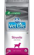 FARMINA Vet Life Dog Struvite Растворение и подавление образования струвитных уролитов