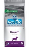 FARMINA Vet Life Dog Oxalate Ограничение образования уролитов уратного, оксалатного и цистинового типа (12 кг)