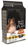PRO PLAN для склонных к избыточному весу или стерил взрослых собак (3 кг)