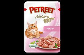 Petreet Паучи для кошек Тунец