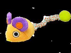 """Petstages игрушка для кошек Interacting """"Мышка"""" заводная вибрирующая 12 см"""
