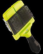 FURminator пуходерка жесткая большая двухсторонняя Large Firm Slicker зубцы 15 мм