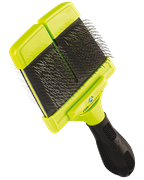 FURminator пуходерка мягкая большая двухсторонняя Large Soft Slicker зубцы 15 мм