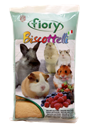 FIORY бисквиты для грызунов Biscottelli с ягодами 35 г