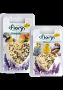 FIORY био-камень для птиц Hearty Big с лавандой в форме сердца 100 г