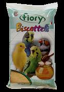 FIORY бисквиты для птиц Biscottelli с медом 35 г