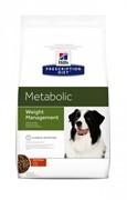Hills Prescription Diet Metabolic Хиллс Диета для собак сухой корм для коррекции веса (4 кг)