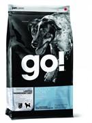 GO! NATURAL HOLISTIC Беззерновой для щенков и собак с треской для чувст. пищеварения (Sensitivity + Shine LID Pollock Dog Recipe, Grain Free, Potato Free) 24-12 (11,30 кг)
