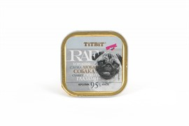 ТитБит Консервы для собак RAF Кролик 100 г